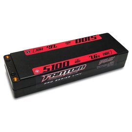 Fantom Racing 5100mAh, 110C-160C, 7.6v, 2-Cell, PRO HV Silicon Graphene LiHV