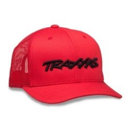 Traxxas TRA1182-RBL  Traxxas Logo Hat Curve Bill Red