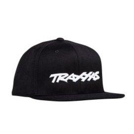 Traxxas TRA1183-BLK  Traxxas Snap Hat Flat Bill Black