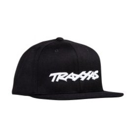 Traxxas TRA1195-BLK  Traxxas Flat Bill Snap Hat Youth Black