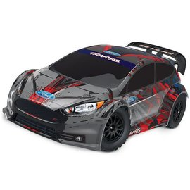 Traxxas TRA74054-4 Ford Fiesta® ST Rally: 1/10-scale Electric Rally Racer. Ready-To-Race