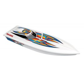 Traxxas TRA38104-1 JET Blast High Performance Electric Race Boat RTR W/ 2.4 Radio