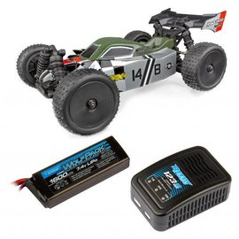 Team Associated ASC20175C  Reflex 14B Buggy Ready-To-Run Combo