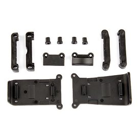 Team Associated ASC21501  Reflex Skid Plates and Arm Mounts Set  14T 14B