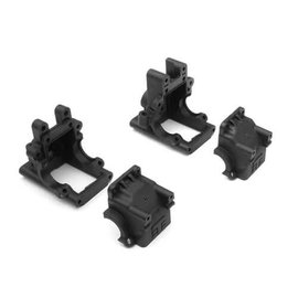Tekno RC TKR6519B  Bulkhead Set (f/r, revised) EB410