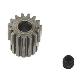 "Robinson Racing RRP1415  48P X-Hard Wide 15T Tooth Pinion Gear w/ Collar 1/8"" or 3.17mm Bore"