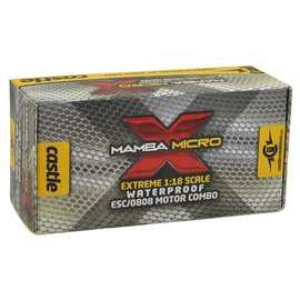Castle Creations CSE010-0147-02  Castle Creations Mamba Micro X 1/18th Scale Brushless Combo (5300KV)