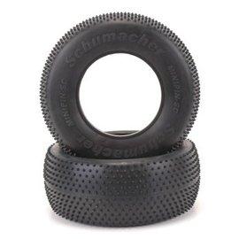 Schumacher U6767  Mini Pin  Short Course Truck Tires Yellow Compound (2)