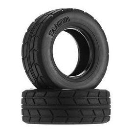 Tamiya TAM51589 RC On Road Racing Truck Tires, for MAN Race Trucks (2)