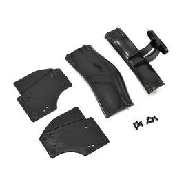 Xray X1 COMPOSITE ADJUSTABLE REAR WING - BLACK - ETS APPROVED
