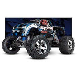 Traxxas TRA36054-4  Blue Stampede RTR 1/10 Scale 2WD Monster Truck