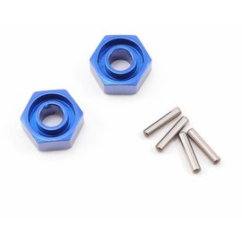 Traxxas TRA1654X  Blue-Anodized Lightweight Aluminum Wheel Hubs (2)