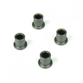 Tekno RC TKR5054A  Spindle Bushings (aluminum, hard anodized, 4pcs)
