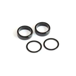 """RocheRC USA 410011 1/4"""" Narrow Rear Axle Collar Set  for Riptide P12"""