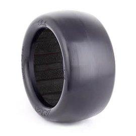 AKA Racing AKA13125CB  1:10 Buggy Evo Slicks Rear (Clay) w/ Black Inserts (2)