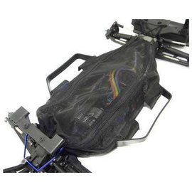 HOT RACING HRALCF16C06 Chassis Dirt Guard Cover LCG 4X4 Slash or Rally