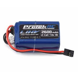 Protek RC PTK-5502  ProTek RC HV LiPo Hump Receiver Battery Pack (Kyosho/Tekno) (7.6V/2600mAh)