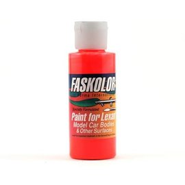 Parma PSE PAR40105  Fluorescent Red Faskolor Lexan Body Paint 2oz