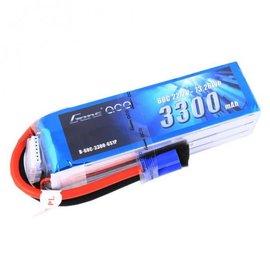Gens Ace GA-B1030  Gens Ace 6S 22.2v 3300mAh 60C Lipo Battery w/ EC5 Plug