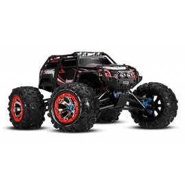 Traxxas TRA56076-4  Black/Red Summit 4WD Monster Truck W/ 2.4GHz TQi Radio, No Batteries