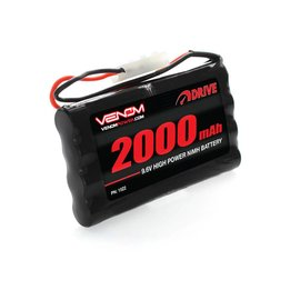 Venom Racing VNR1522  DRIVE 9.6V 2000mAh NiMH Battery with Tamiya Plug