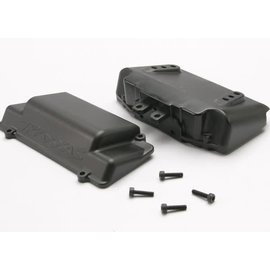 Traxxas TRA5515X  Battery Box, bumper (rear)