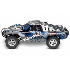Traxxas TRA58024-BLUE Slash 1/10 2WD Blue, Xl-5 RTR