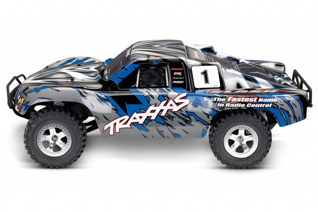 Slash 1/10 2WD Blue, Xl-5 RTR w/2 4GHz Radio - No Battery or Charger