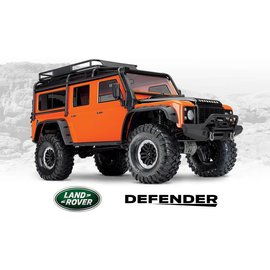 Traxxas TRA82056-4 Orange TRX-4 1/10 Crawler Defender Land Rover