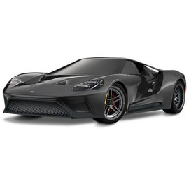 Traxxas TRA83056-4 Ford GT Black 1/10 Scale AWD Supercar RTR w/ XL-5 & TSM