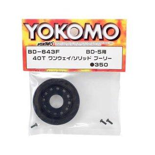 Yokomo YOKBD-643F 40T One-Way Pulley