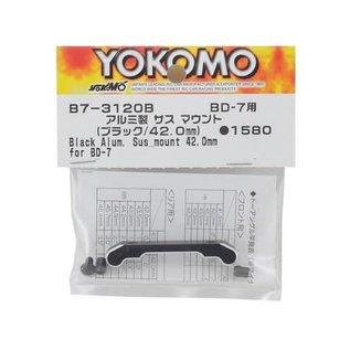 Yokomo YOKB7-3120B  Aluminum Suspension Mount (Black) (42.0mm)