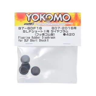 Yokomo YOKB7-8DF16 Fluorine Rubber Hyper Diaphragm (4) (for SLF Short Shock II)