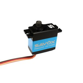 Savox SAVSW1250MG  Waterproof Premium Mini Digital Servo .10/111.1@6.0V, Ideal for Traxxas 1/16 Scale