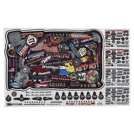 "Firebrand RC FBR1SCDTL812  Firebrand RC Sponsor Logos 1B (6x10"")"