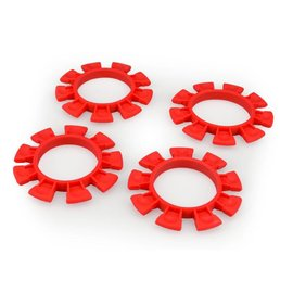 J Concepts JCO2212-7  Satellite Tire Gluing Rubber Bands (4) Red