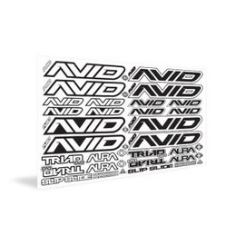 Avid RC AV-1  Avid Sticker Sheet