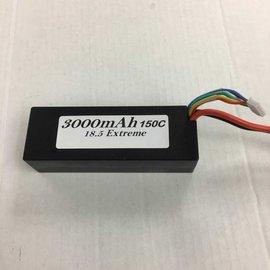 SMC SMC3000-5S1PD  Factory Spec 5S 18.5V 3000mAh 150C LiPo Battery w/ Deans Plug