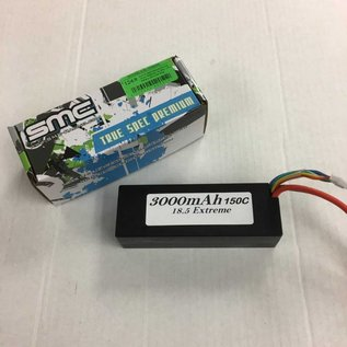 Michaels RC Hobbies Products SMC3000-5S1PD  18.5V 3000mAh 5s 150C LiPo Battery with Deans Plug 432 Grams