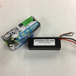 Michaels RC Hobbies Products SMC3000-6S1PD  22.2V 3000mAh 6s 150C LiPo Battery with Deans Plug 495 Grams