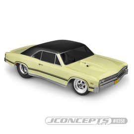 "J Concepts JCO0358  1967 Chevy Chevelle Clear Body for 10.75"" Wide SCT"