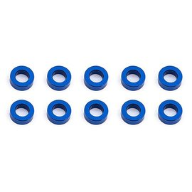 Team Associated ASC31383  Ballstud Washers, 5.5x2.0 mm, Blue Aluminum