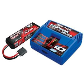 Traxxas TRA2994  Charger/Battery Combo Pack (1 ID Charger, 1 4000mAh 3S 25C LiPo Battery)