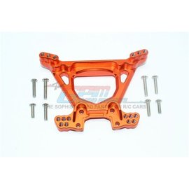 GPM Racing Products RUS4030-O  Rustler 4X4 Orange Aluminum Rear Shock Tower