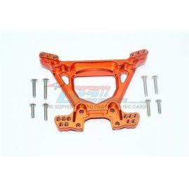GPM Racing Products RUS4030-O  Rustler 4X4 Orange Aluminum Rear Shock Tower