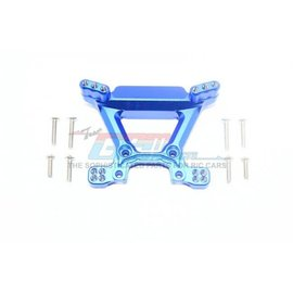 GPM Racing Products RUS4028-B  Rustler 4X4 Blue Aluminum Front Shock Tower