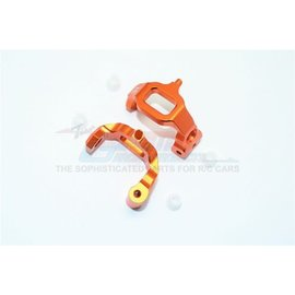 GPM Racing Products GT019-O  Traxxas 4-Tec 2.0 Orange Aluminum Front C Hubs