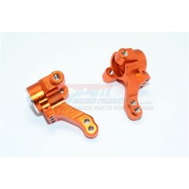 GPM Racing Products GT021-O  Traxxas 4-Tec 2.0 Orange Aluminum Front Knuckle Arm