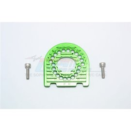 GPM Racing Products GT018-G  Traxxas 4-Tec 2.0 Green Aluminum Motor Mount Plate With Heat Sink Fins