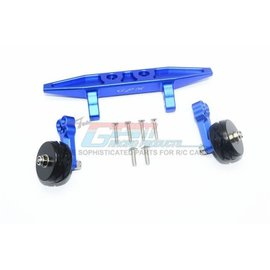 GPM Racing Products RUS4040R-B  Rustler 4X4 VXL Blue Aluminum Rear Adjustable Wheelie